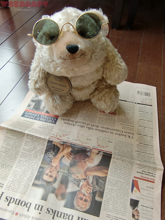 Gund Snuffles, banker, depression, stress, international executive