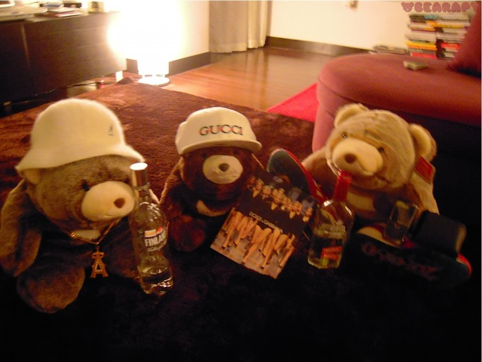 gangster bears