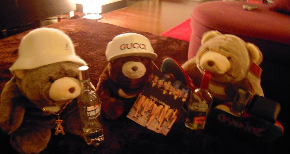 the gangster bears