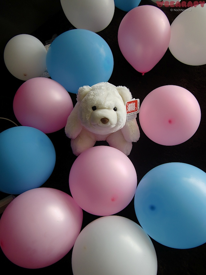 Gund Snuffles, recover from depression, bearapy, creativity, alternative forms of therapy for depression, Dreamie