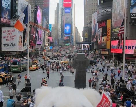 Floozie去了纽约