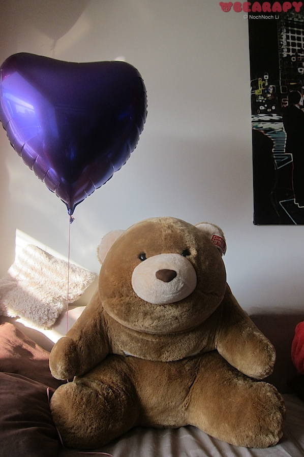 Gund Snuffles, recover from depression, bearapy,