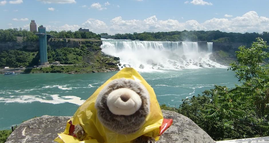 Armie at Niagara Falls