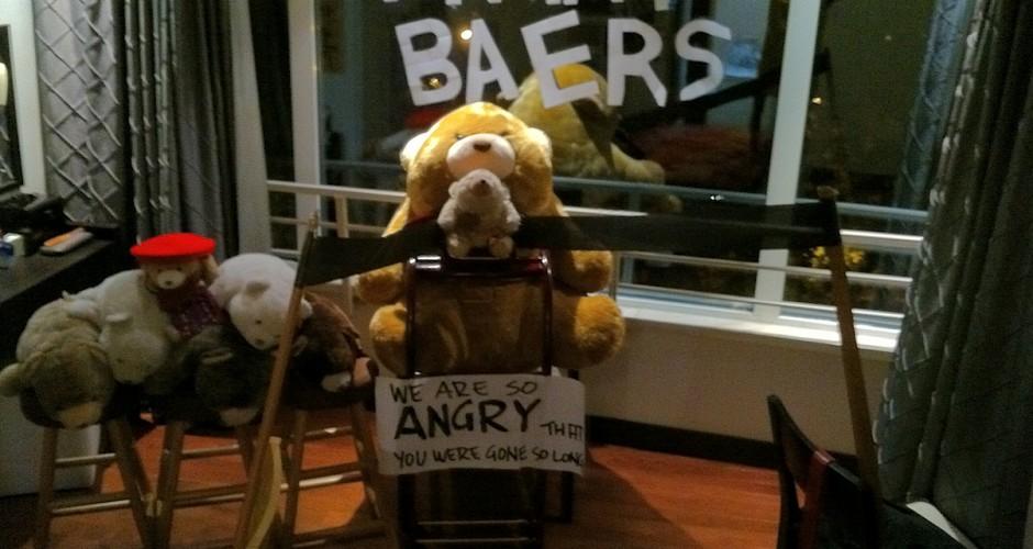 angry bears!!
