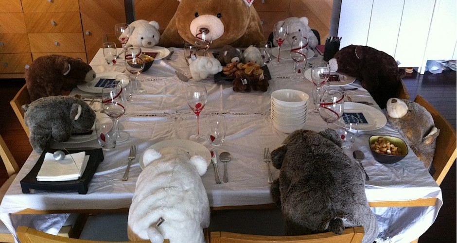 a bear gala dinner