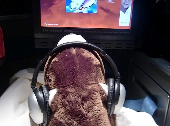 飛機上的動畫片
