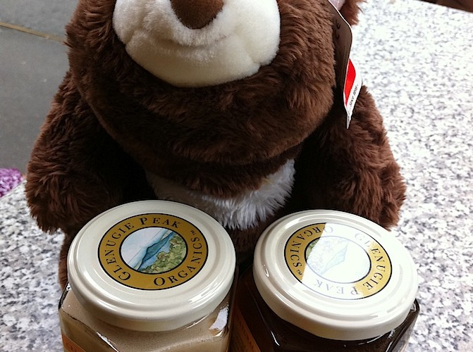 Punkie brings home Australian honey