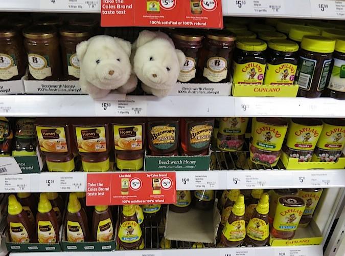 Shopping for honey