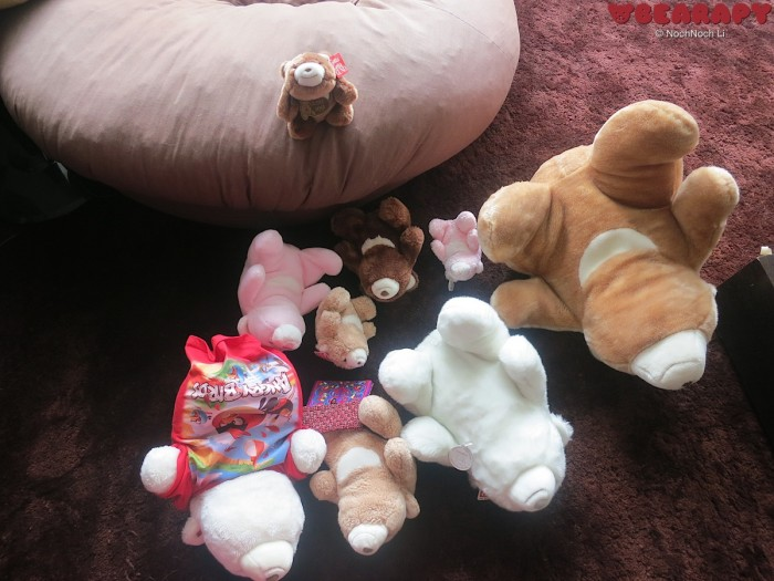 Gund Snuffles, Bearapy, bear, teddy bear, creativity from depression, Noch Noch