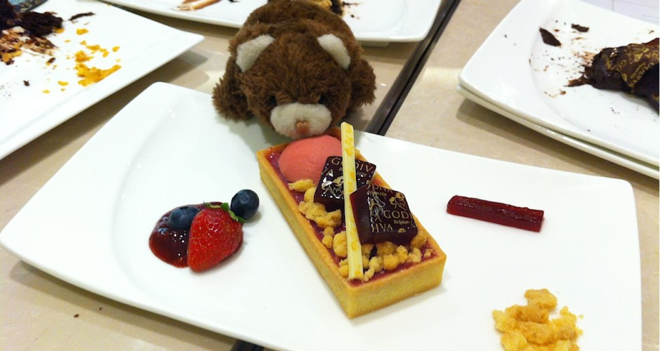 Shinie 吃歌帝梵巧克力