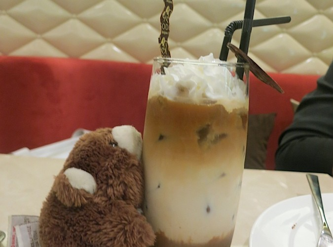 Shinie's chocolate drink
