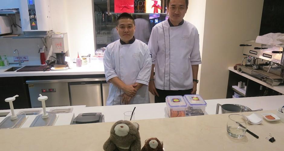 Godiva chefs