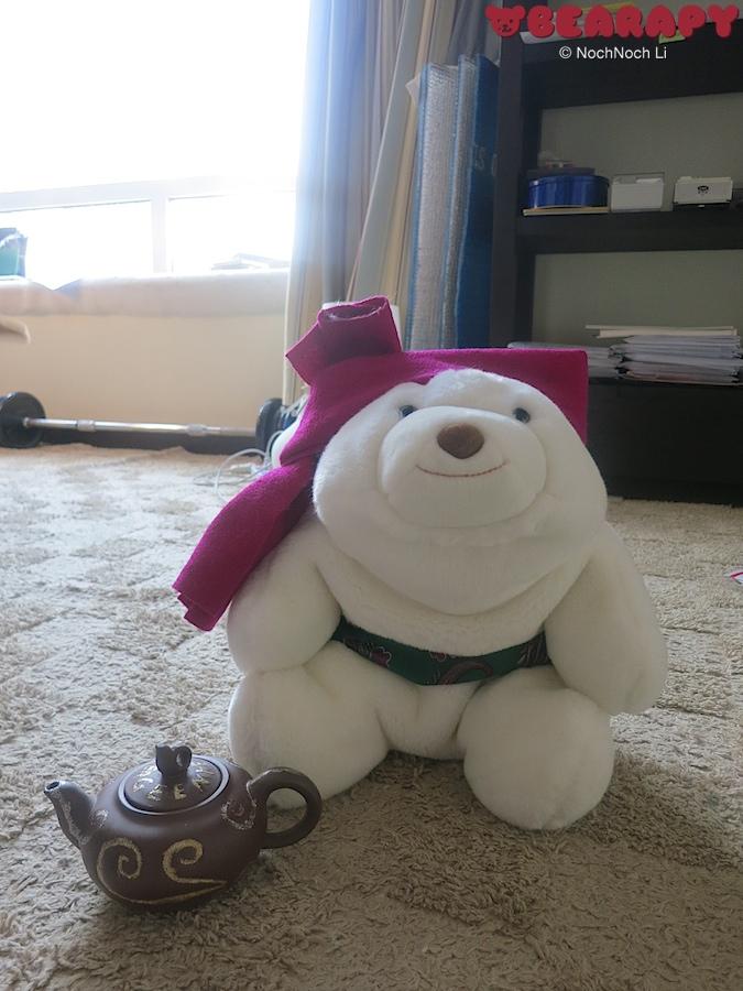 Geenie from a teapot. Gund Snuffles