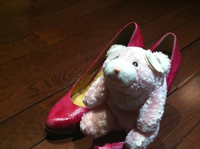 Clumie's heels