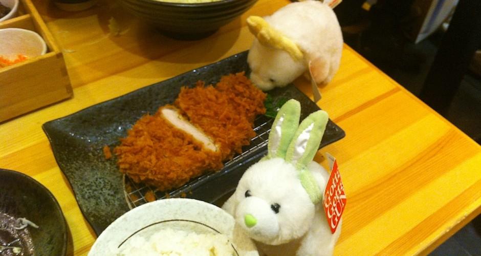 Tonkattsu for dinner