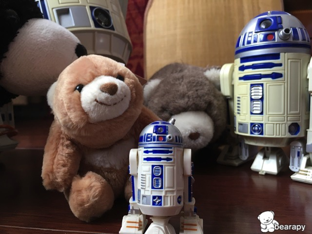 bears and R2D2