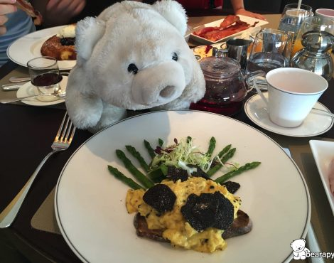 black truffle scrambled eggs